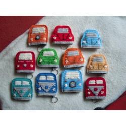 Schlüsseltasche Käfer Bus
