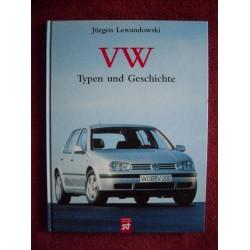 VW Typen und Geschichte